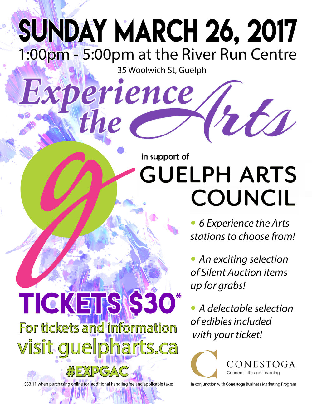 Guelph Arts Council: Experience the Arts