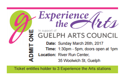 Experience the Arts tickets