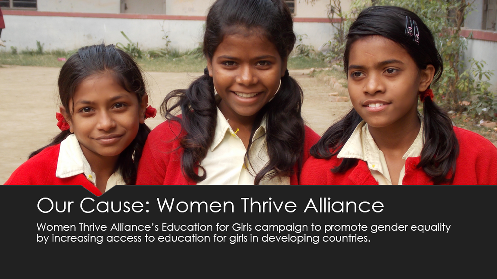 Women Thrive Alliance presentation