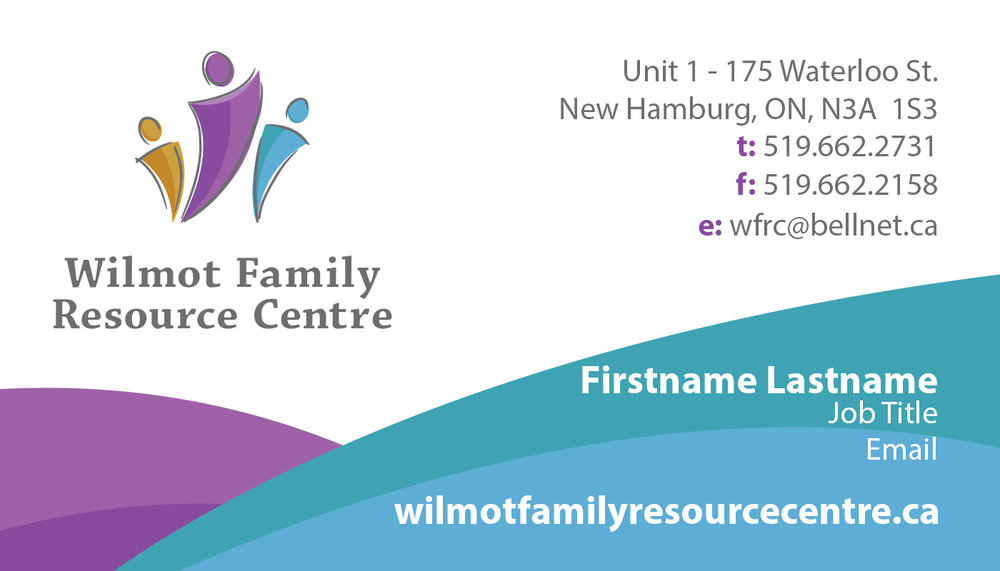 WFRC Business Card Template