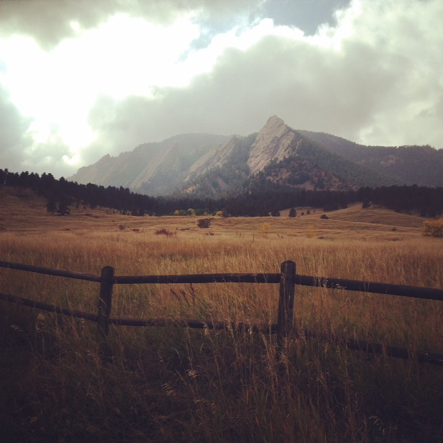 Earthy Fall day in Boulder Co