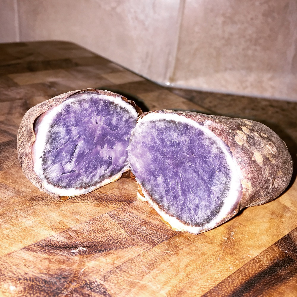 My fav CARB...the purple potato