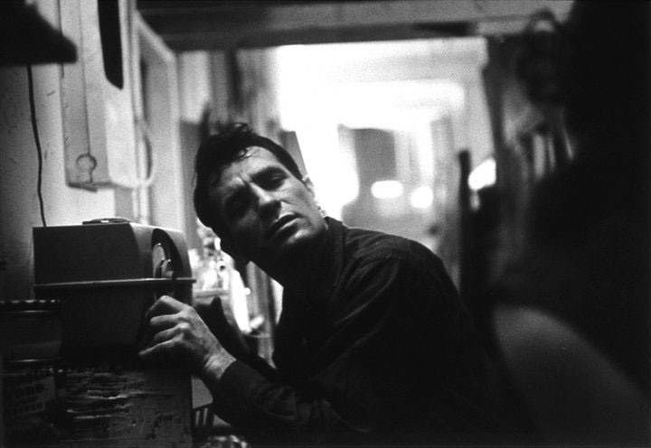 Portrait of Jack Kerouac by Robert Frank. Taken from Brainpickings.