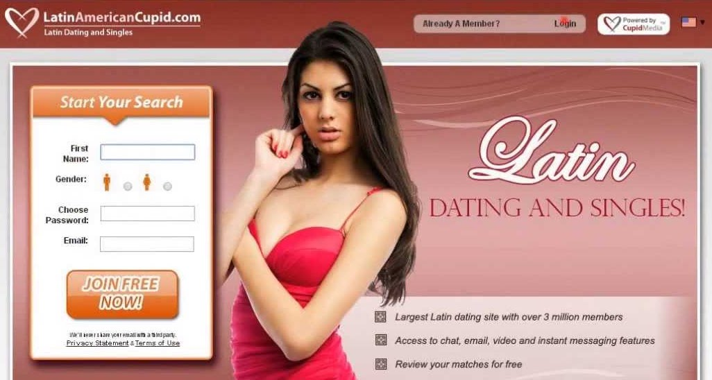 Latin cupid dating site