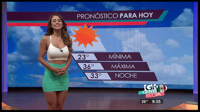 The 12 Sexiest Latin American Weather Girls My Latin Life