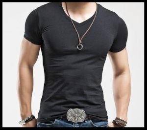 not bad. Maybe go with a smaller belt buckle!