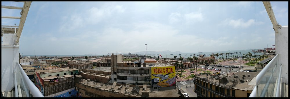 Chim Pum, Callao! Photo taken from a rooftop near La Punta, Callao