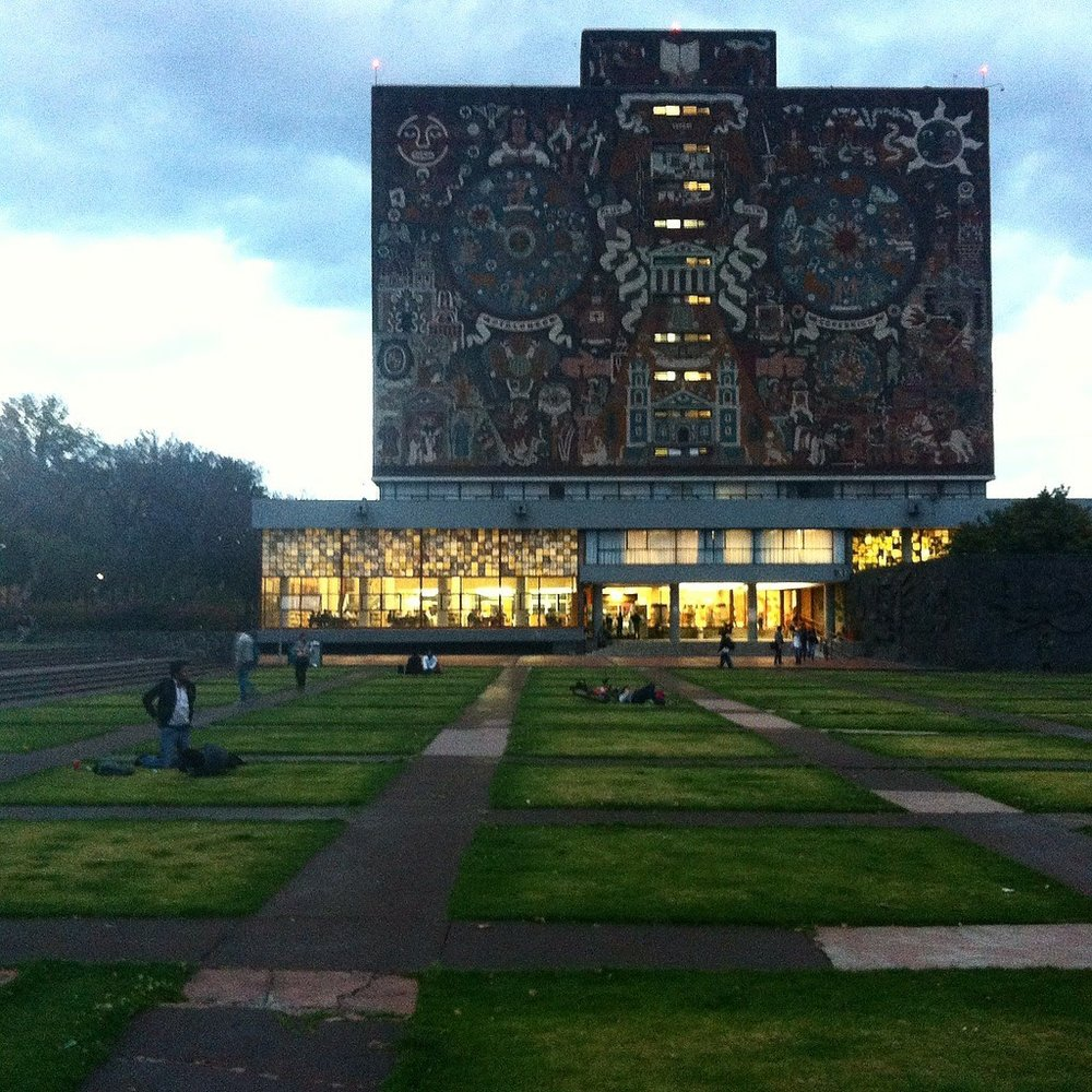 UNAM. The largest public university in Mexico.