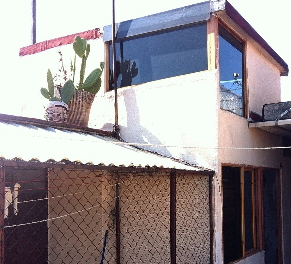 the first place I rented in Mexico City…memories.