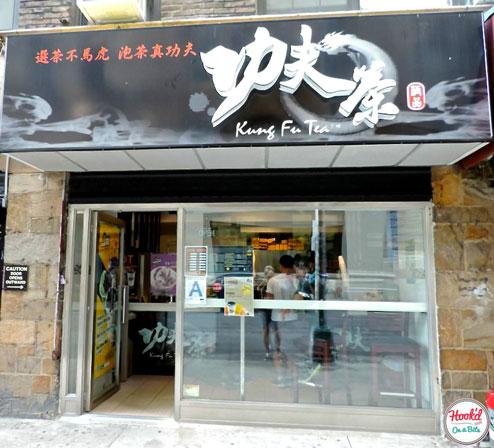 Kung Fu Tea Exterior