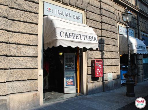 Italian Bar Exterior