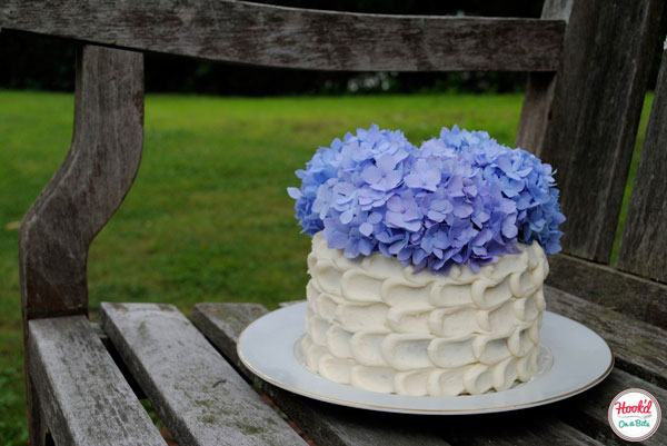 how to make petal cake icing