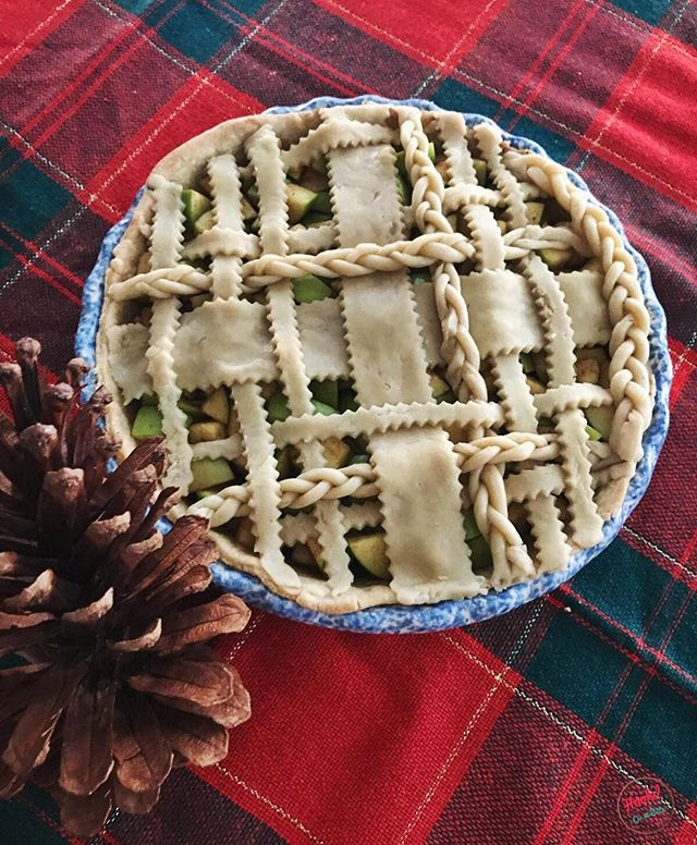 Merry Christmas from this pretty Apple pie!! #imhookd #hookdonabite #christmas #pie #dinner #food #foodporn #cooking #usa #love #travel