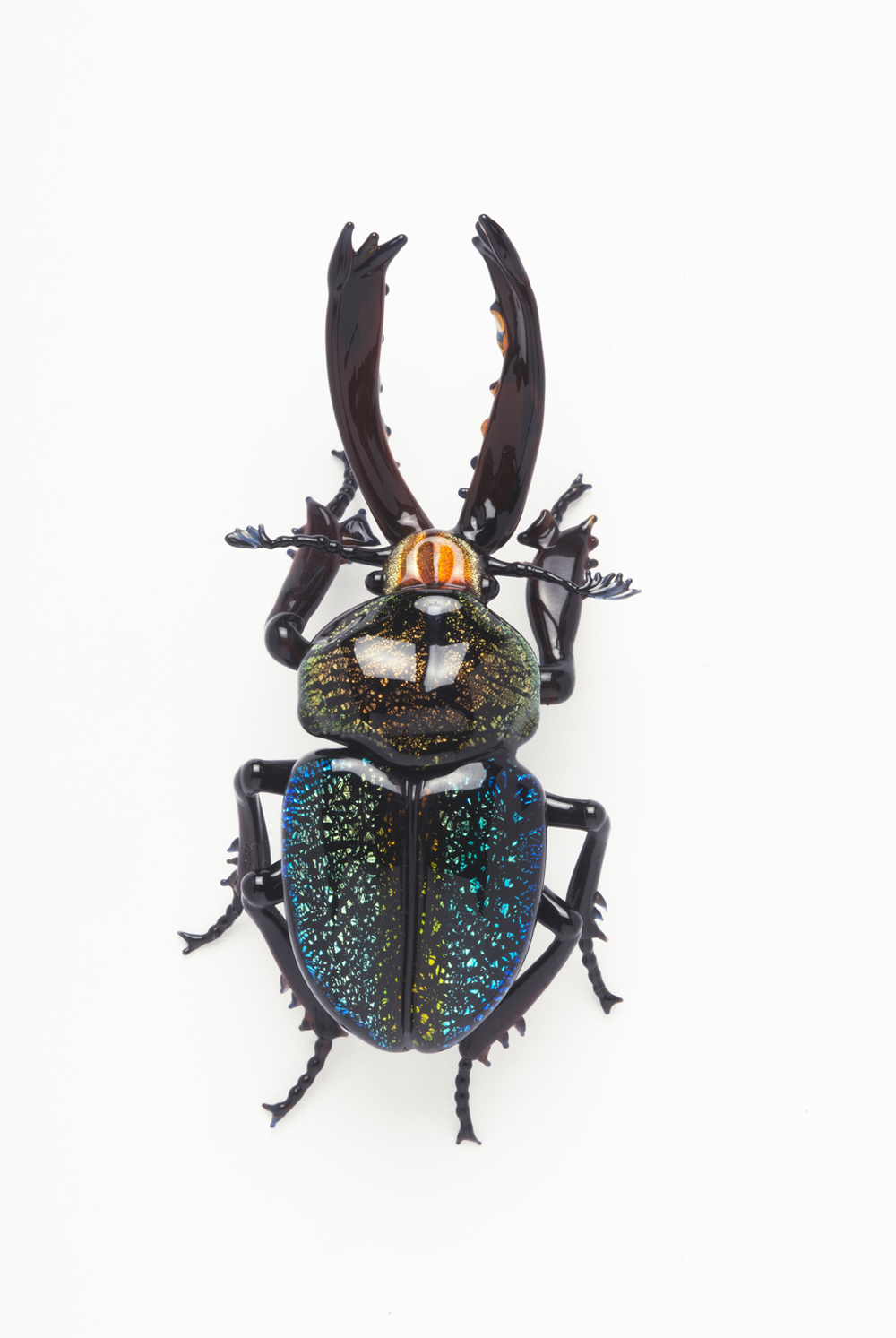Vittorio Costantini,  Cerambycidae  (2007, soda-lime glass, 2 1/2 x 1 1/4 x 3/4 inches), VC.142