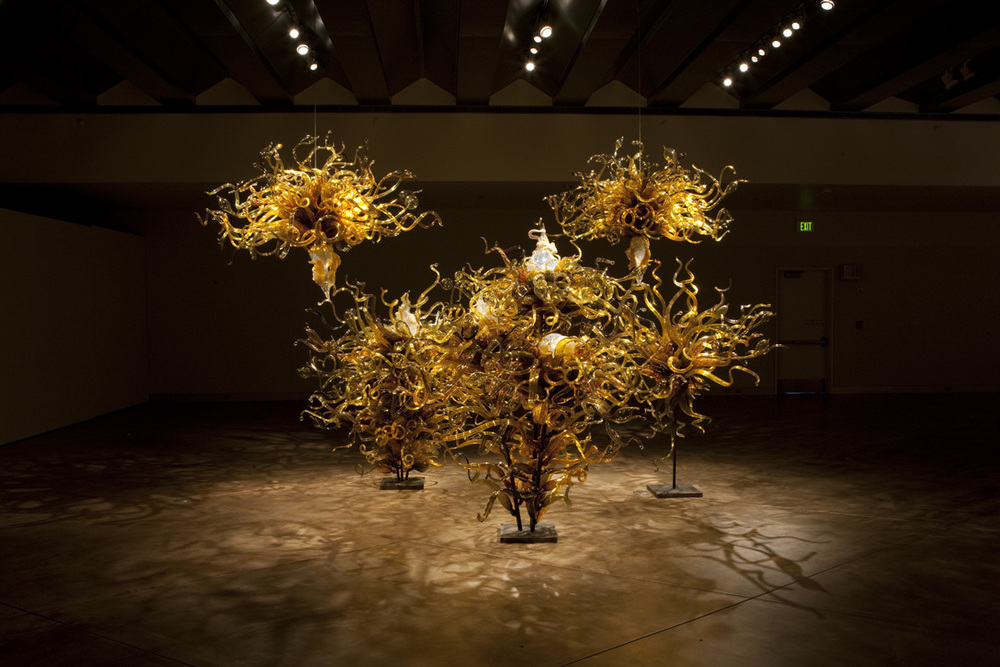 Dale Chihuly,   Laguna Murano Chandelier   (Museum of Glass, Tacoma, Washington, 2008-2009)