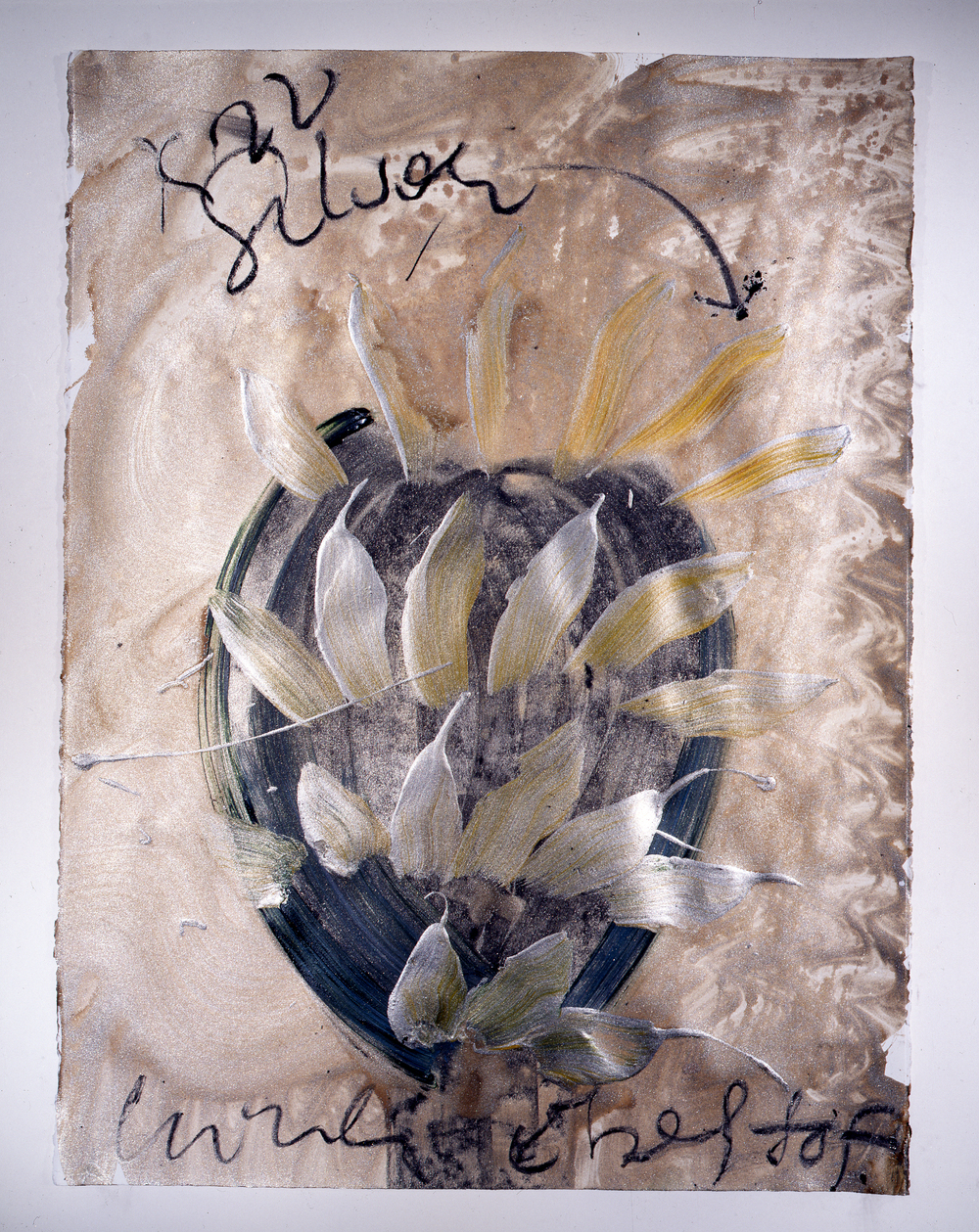 Dale Chihuly,  Ebeltoft Drawing,  (1991, mixed media on paper, 30 x 22 inches), DC.343