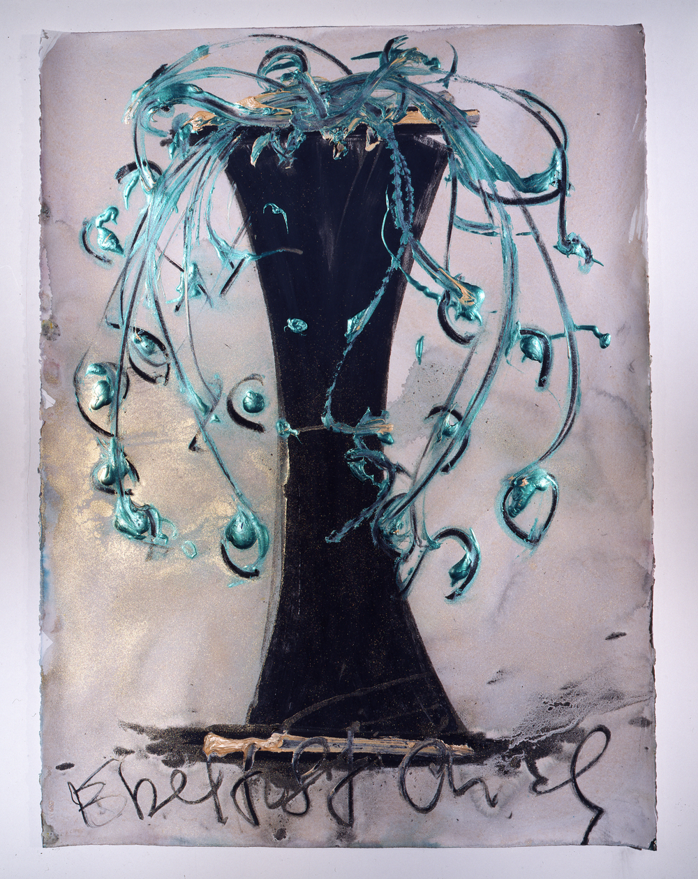 Dale Chihuly,  Ebeltoft Drawing,  (1991, mixed media on paper, 30 x 22 inches), DC.357