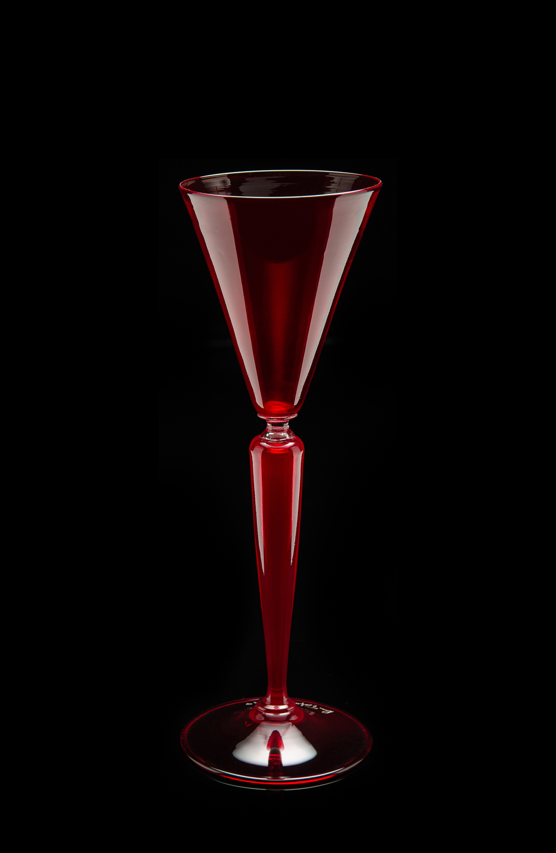Lino Tagliapietra, Goblet (1991-1994, glass, 10 3/8 x 3 1/2 x 3 1/2 inches), LT.76