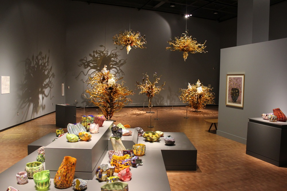 Dale Chihuly,   Laguna Murano Chandelier   (Peoria Riverfront Museum, Peoria, Illinois, 2013-2014)