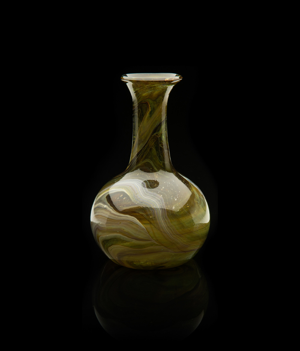 Unknown Venetian,  Chalcedony Vase  (glass, 6 7/8 inches), VV.610