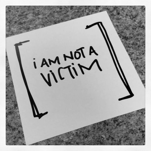 I am not a victim