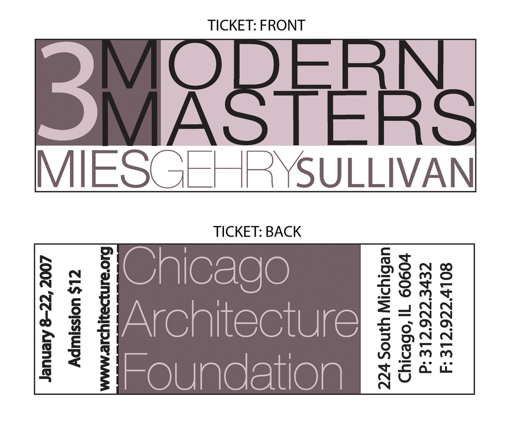 3 Modern Masters | Tickets