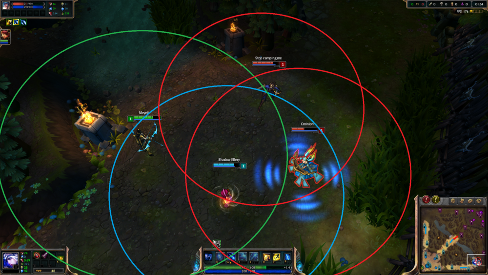 It's rumored that this formation summoned Teemo