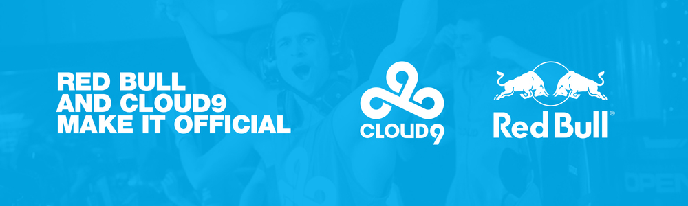 Cloud9 and Red Bull Announce Official Partnership
