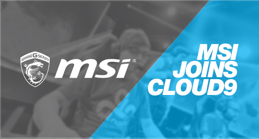 Cloud9 Partners with MSI