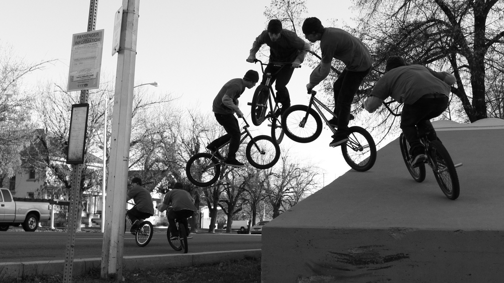 Cameron Wood 360, Provo streets. Photo Austin Boyd.