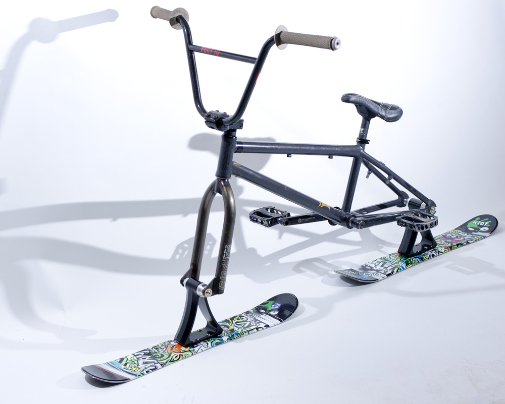 Turn your bike into this and have fun all winter!!