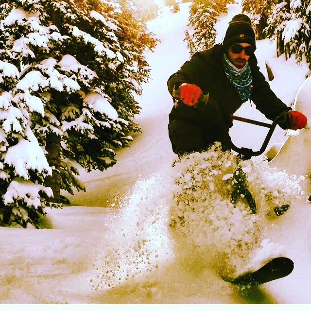 Winter is just around the corner, have fun with it! Prepare for fun by purchasing an oUTlaw union snowbike kit at outlawunion.com