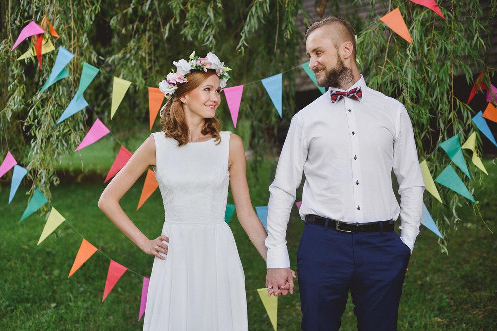 Sesja poślubna w chorzowskim skansenie - Olga i Artur