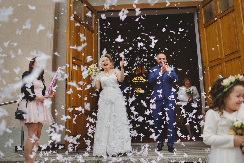Madzia i Grześ - konie, bryczki i miłość! Ślub w Parku Leśnym u Kaczyny