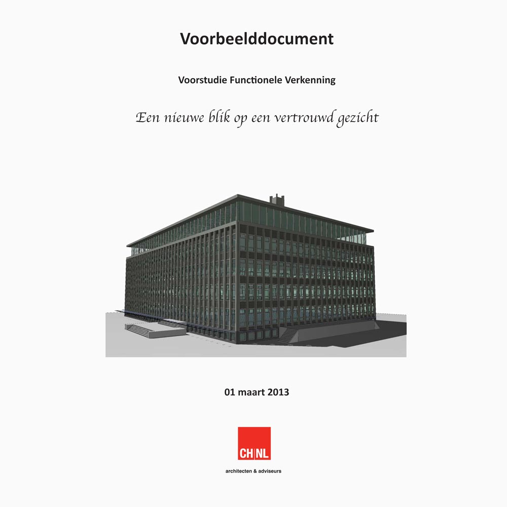 Download functionele verkenning