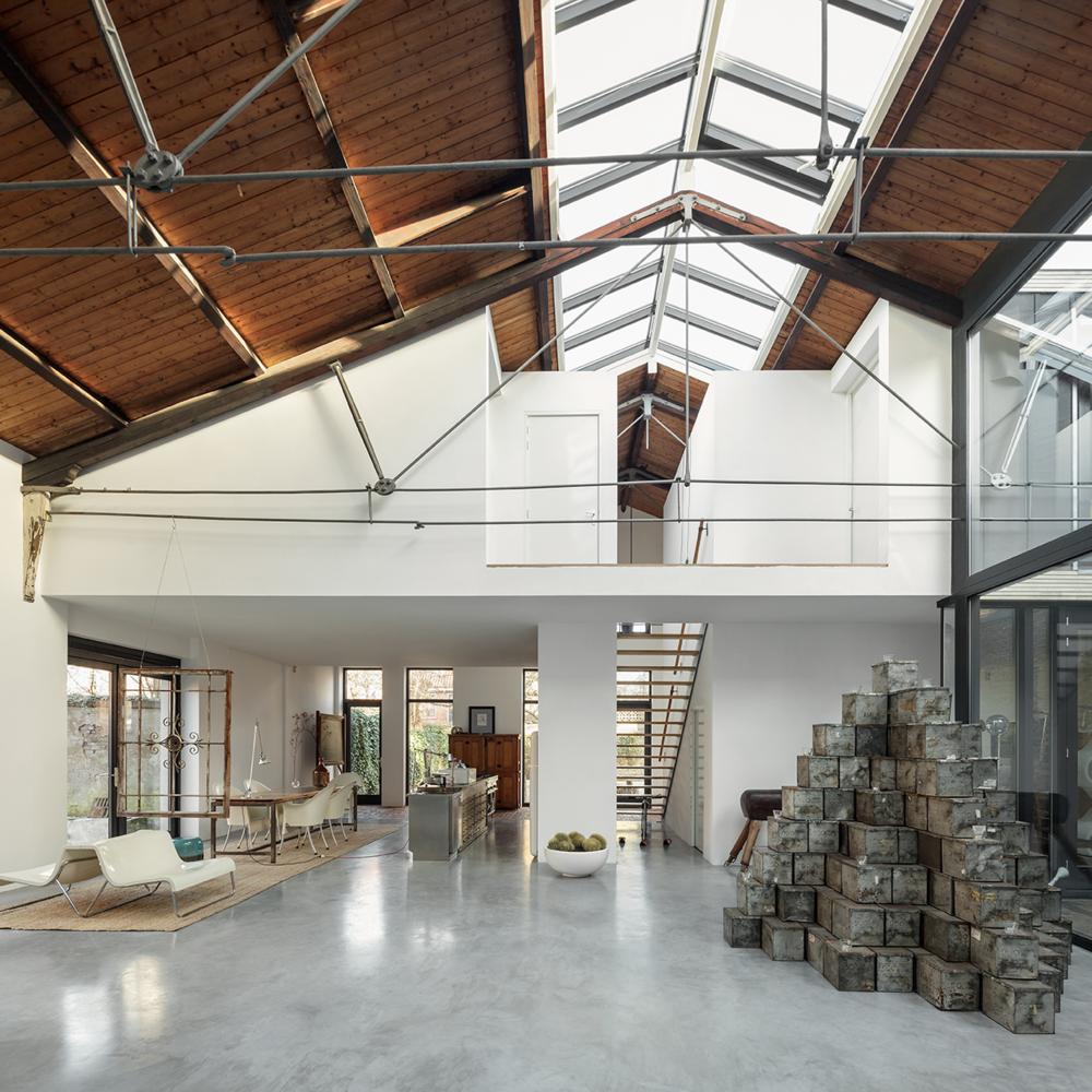 Loftwoning in fabriekshal Delft - 2e fase