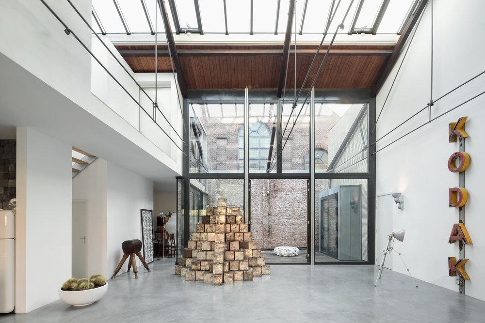 Loftwoning in fabriekshal Delft 2e fase