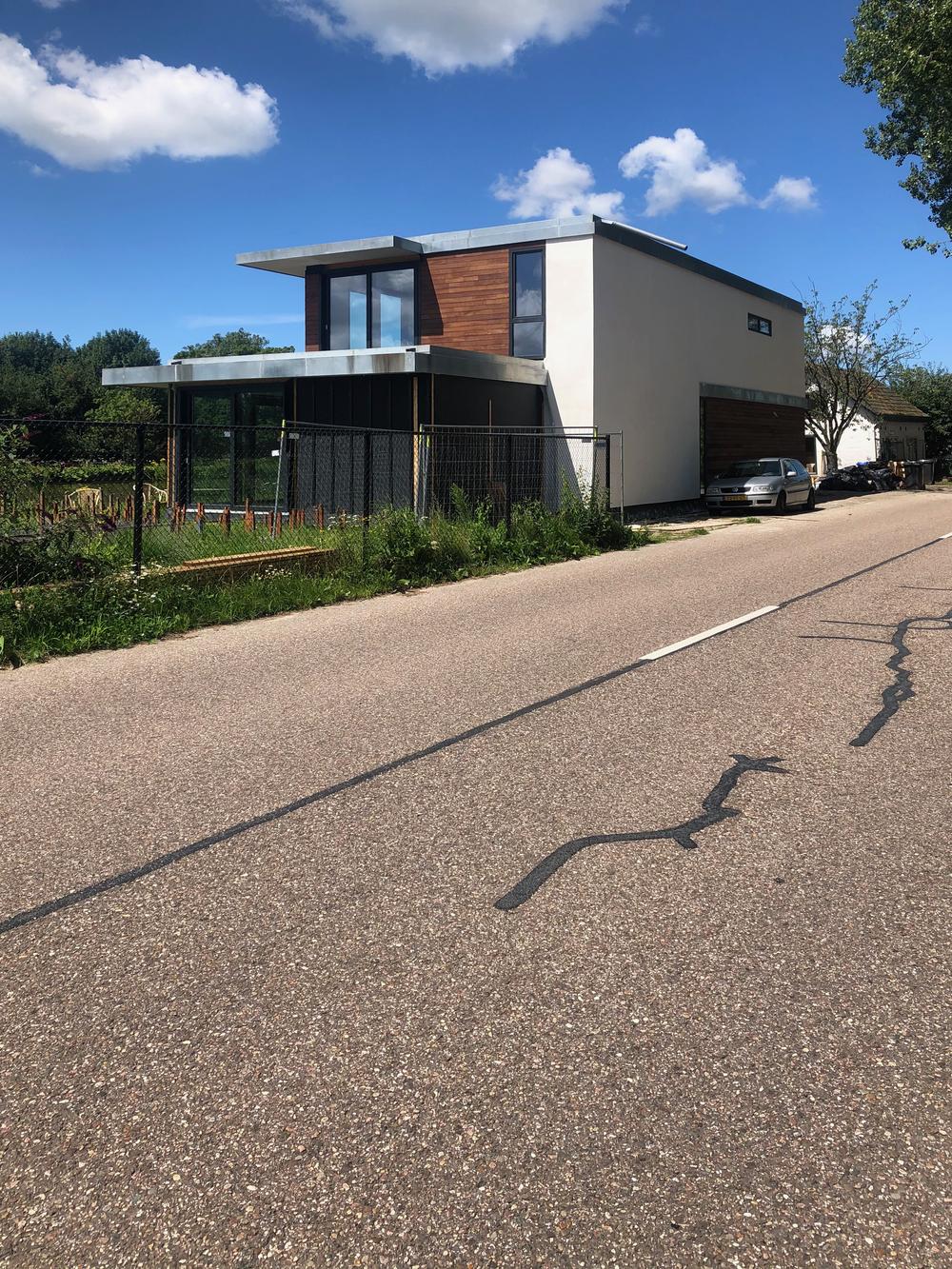 Twee vrijstaande villa's Delft