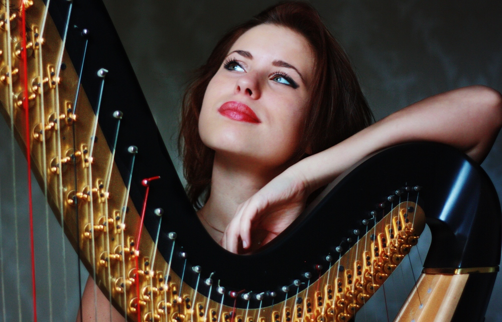 Harpist hire london