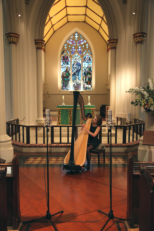 Valeria Kurbatova- solo harp, London