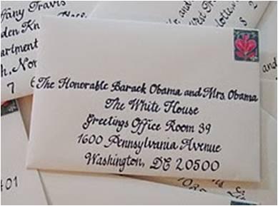 Send the President a Wedding Invitation — O'Neil Events