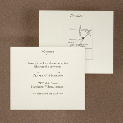http://oneilevents.carlsoncraft.com/Weddings/Map--Direction-Cards/3150-FVRM2336RC-Ecru-Reception-and-Map-Card.pro