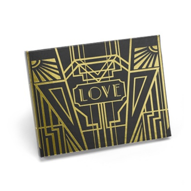 Guest will leave their love in your on point themed guest book