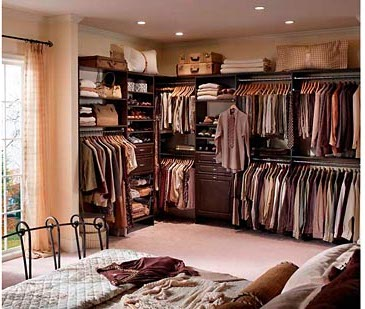 Reach In Closet Organizer