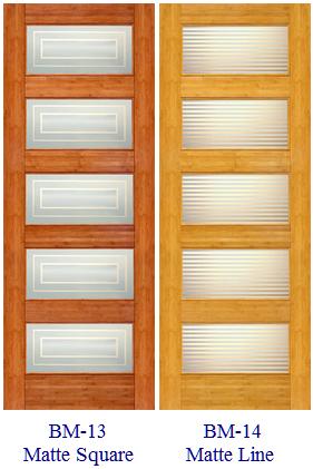 Bamboo Doors Interior Doors And Closets