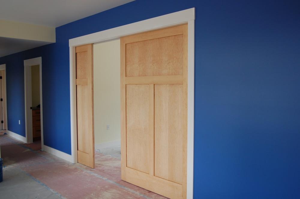 Mirrored Pocket Door ... & Pocket Doors \u2014 Interior Doors and Closets Pezcame.Com