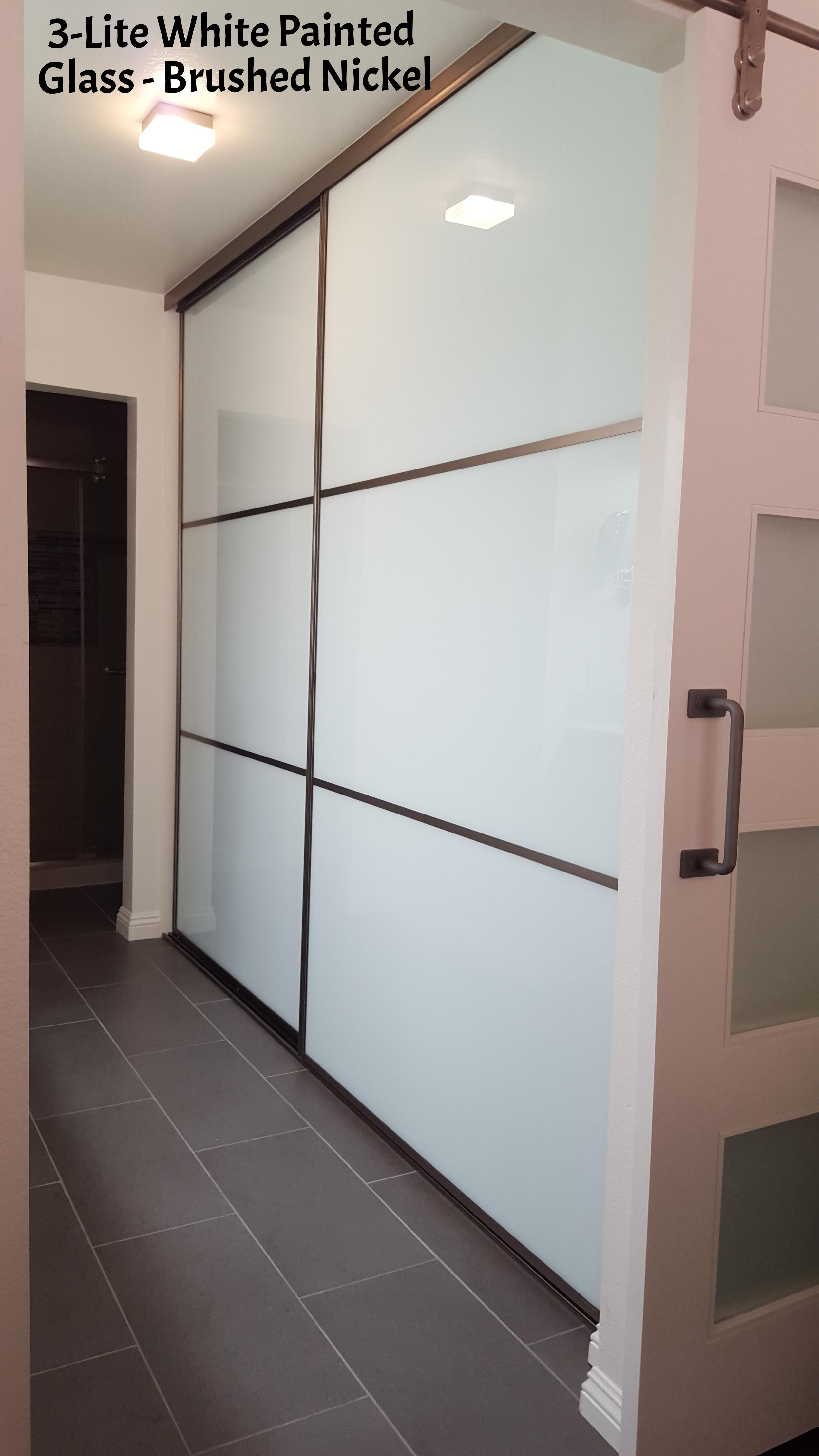 Gentil Glass Closet Doors ...