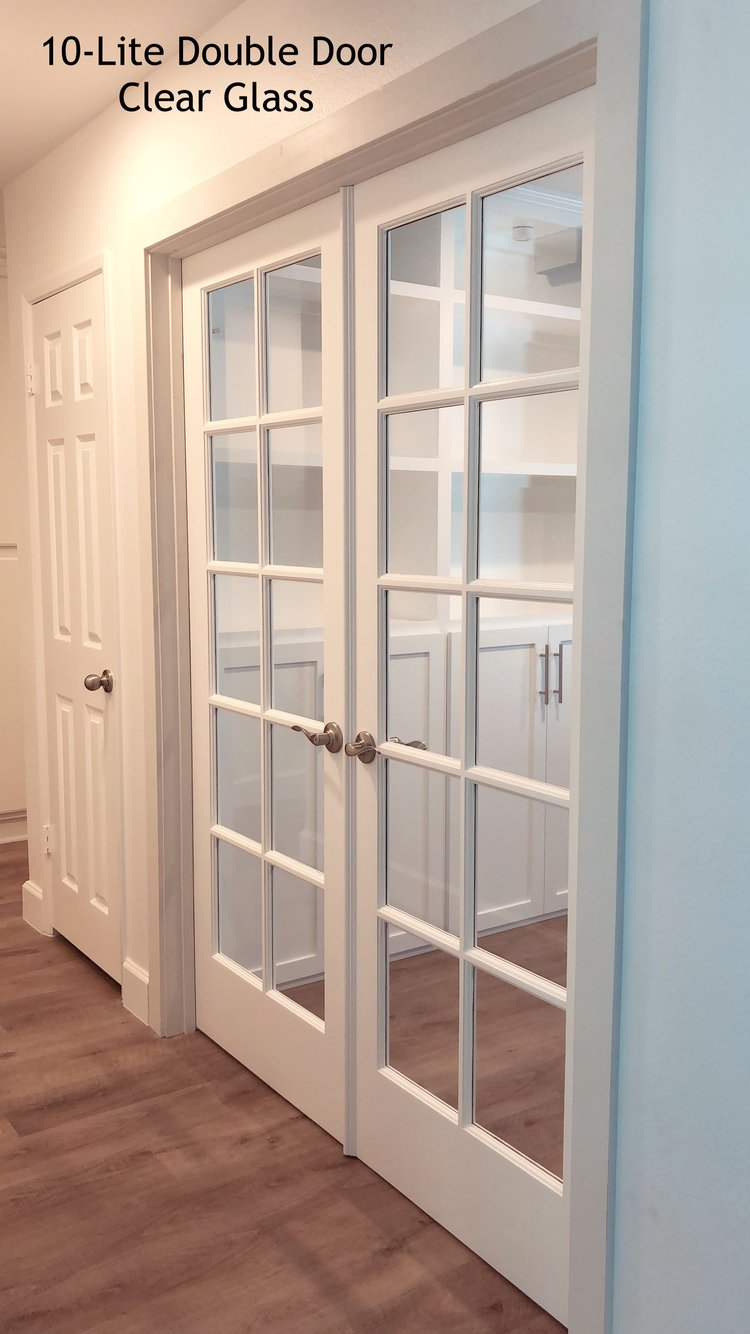 Glass Doors Interior Doors And Closets