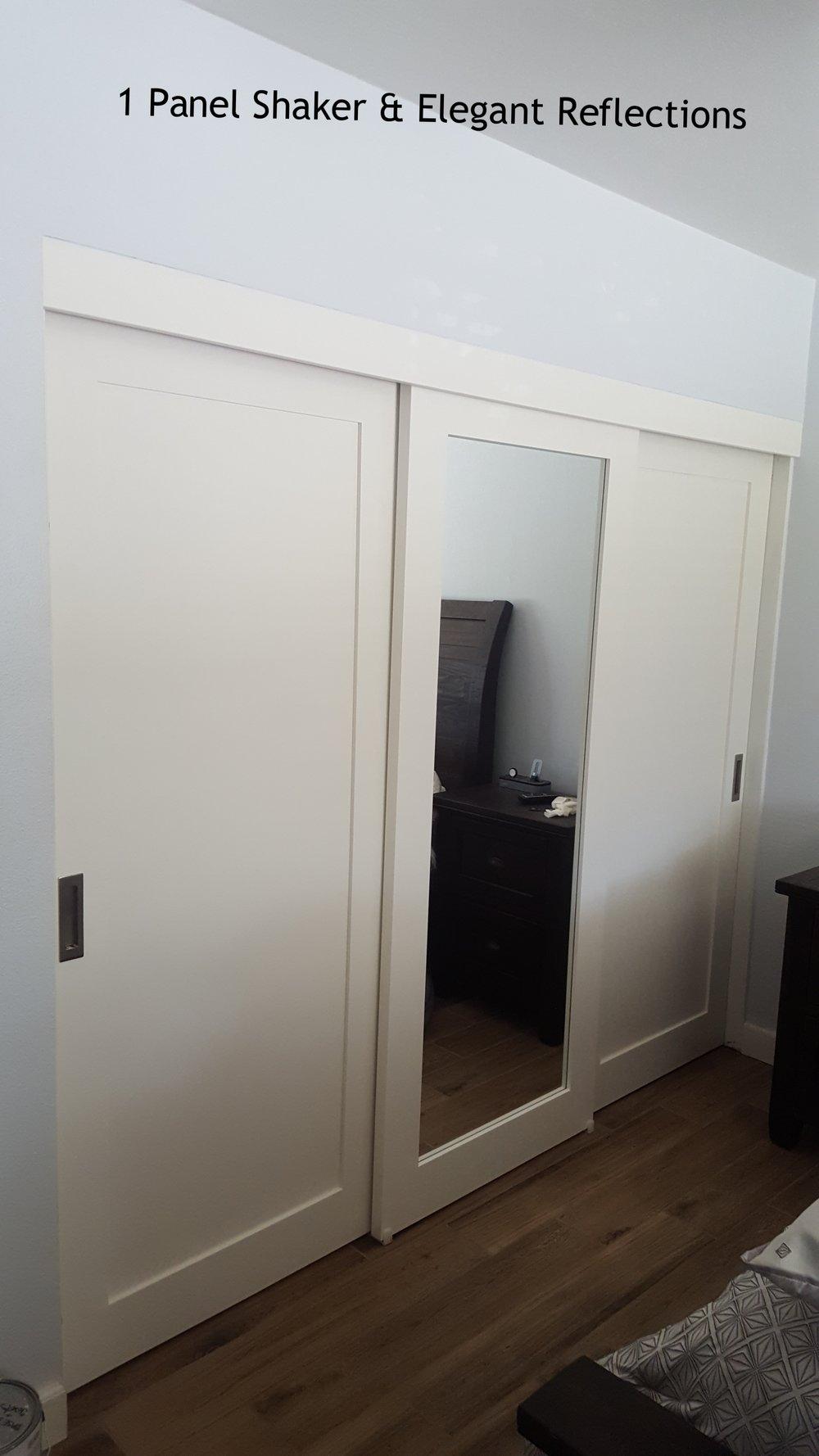 . Mirrored Closet Doors