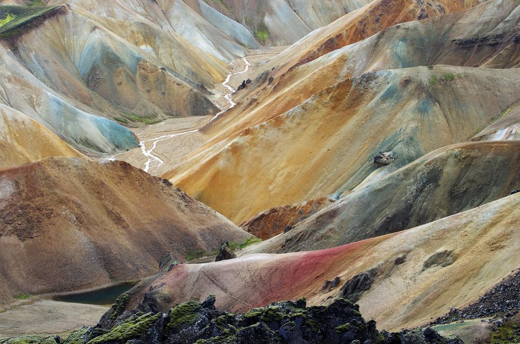 Colors of Landmannalaugar by Gregor Samsa